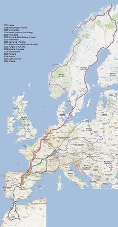 ¡Bienvenidos a mis viajes en autocaravana! He creado este blog para ir anotando cada viaje que realizo con mi familia en nuestra auto... Camping Ac, Road Trip Europe, Spain And Portugal, Road Trippin, Spain Travel, Van Life, Tourism, Places To Visit, Explore