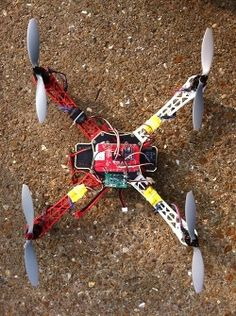 Beagle Fly uses BeagleBone as a drone flight controller.