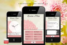 Appy Couple...an app that all your guests can download about your wedding that you customize! this is so neat!