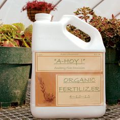 "Look for products labeled ""natural organic,"" ""slow release,"" and ""low analysis."" Be wary of products labeled organic that have an NPK (nitrogen-phosphorus-potassium) ratio that adds up to more than 15. Ask a reputable garden center owner to recommend fertilizer brands that meet organic standards."