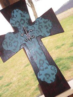Decorative stacked cross. via Etsy.
