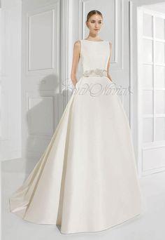 Vestido de novia Patricia Avendaño 2016 Modelo 2653 en Eva Novias Madrid. #vestidosnovia #moda #fashionbridal #weddingdress #evanovias