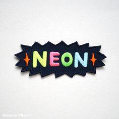 Fer de néon dans les parcelles par BelsArt sur Etsy