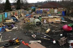 For something different: Adventure playground