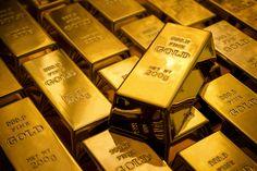 بین الاقوامی بلین مارکیٹ میں فی اونس سونے کی قیمت15 ڈالر کی کمی سے1270 ڈالر کی سطح پر