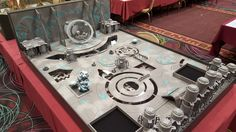 Image result for privateer press tables Privateer Press, Game Room Design, Diorama, Tables, Miniatures, Image, Mesas, Dioramas, Minis