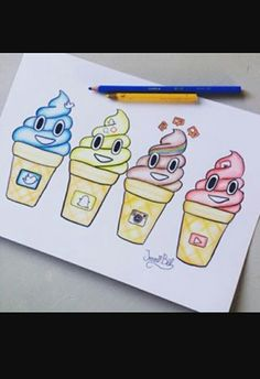 emoji icecream❤