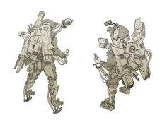ArtStation - Junkpack Squad, Braydan Barrett