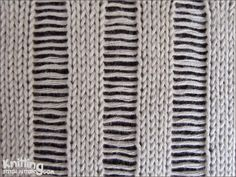 knit-purl-stitches | Knitting Stitch Patterns