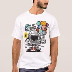 Astronaut ballons T-Shirt
