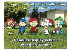 Charlie-Brown-Peanuts-Gang-Christmas-Yard-Lawn-Art-Decorations