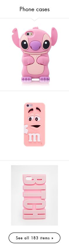 """Phone cases"" by queenlove-996 on Polyvore featuring accessories, tech accessories, phone cases, comic book, pink stitch, silicone iphone case, iphone cover case, iphone cases, pink iphone case and apple iphone cases"
