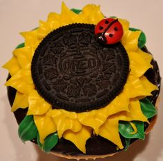 Sunflower  with Oreo's. I'd make it with a non-HFCS alternative, but very cute!