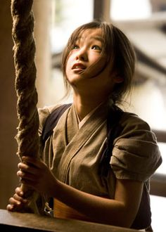 Love her eyes - Memoirs of a Geisha.