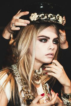 Cara Cara Cara is fierce in Chanel accessories
