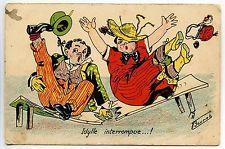 ILLUSTRATEUR GERMAINE BOURET . IDYLLE INTERROMPUE .... !!
