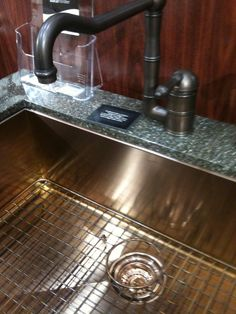 Copper sink by Rohl Copper Sinks, Espresso Machine, Coffee Maker, Kitchen Appliances, Good Things, Ideas, Espresso Coffee Machine, Coffee Maker Machine, Diy Kitchen Appliances