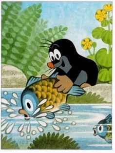 The Mole. Cute cartoon!