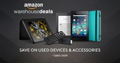 Warehouse Deals, huge savings on Amazon http://amzn.to/2aW9uWE affilate. #tablet #kindle #books #book clubs