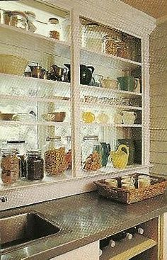 Try Not to Be Confused In this design journey of mine, I am now two postings into the English influence. Window Shelves, Pantry Shelving, Bathroom Medicine Cabinet, Windows, Storage, Confused, Kitchens, House, Journey