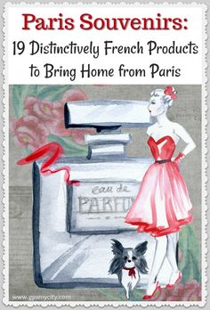 Paris Souvenirs  19 Distinctively French Products to Bring Home from Paris What to buy in Paris. This Paris shopping guide is to help you steer yourself in the right direction to the most notable French products closely associated with the Parisian way of life.