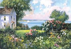 'New England Garden' by Paul Landry