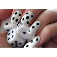 Adorable Dice Nails