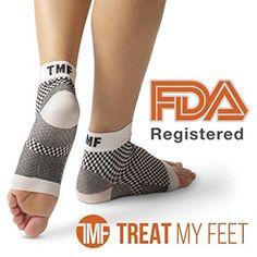 Plantar Fasciitis Socks Foot Sleeve & Compression Sock: FDA-Registered Heel Slee