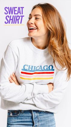 Have a sweatshirt day ☀️ Hit the link to shop the latest! #vintage #vintageclothing #vintagestyle #sweatshirt Champion Sweatshirt, Crew Neck Sweatshirt, Vintage Outfits, Vintage Fashion, Alternative Outfits, Vintage Love, Fleece Fabric, Vintage Inspired, Clothes For Women
