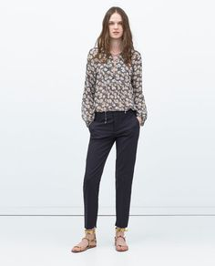 Trousers - Women | ZARA United States