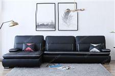 Sofa nỉ cho phòng khách nhỏ sang trọng hiện đại
