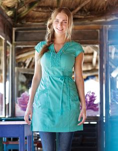 534478da3 Ruffle Tunic, £49 Bravissimo, Turquoise Color, Ruffles, Tunic Tops, Dress