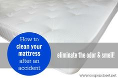 How to Clean Pee out of a Mattress - Coupon Closet