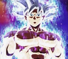 (Mastered) Ultra instinct Goku shirtless!!!!♡>//w//< #edited by me
