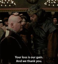 King Richard being hilarious #Galavant