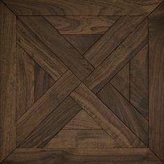 Classic American Walnut | Trianon Mosaic Wood Floors | Coswick Hardwood Floors