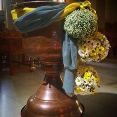 Κολυμπήθρα βάπτισης flowers