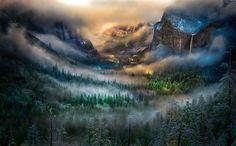 Туман, William Toti. Ловите мгновения на Яндекс.Картинках.
