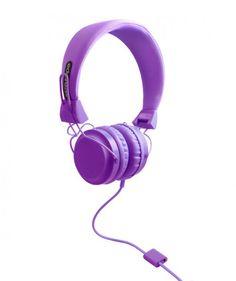 Morado - Audífonos (headphones) con micrófono, almohadillas intercambiables. $127.500 COP (Envío gratis). Compralos aquí --> https://www.dekosas.com/wize-and-ope