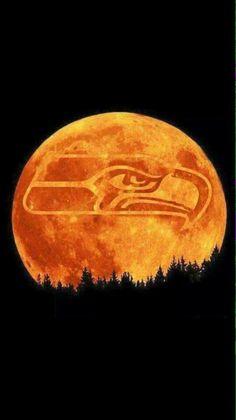 Supermoon Go Hawks!