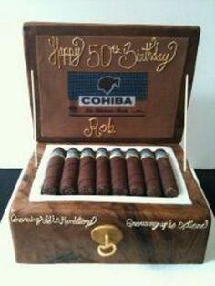 Cigar cake from cupcakescouturemb.com