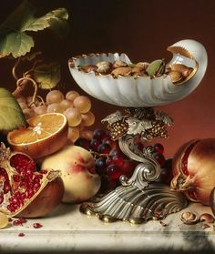 Painting Still Life, Still Life Art, Romance Art, Still Life Flowers, Food Painting, Egg Art, Fruits And Vegetables, Punch Bowls, Decorative Bowls
