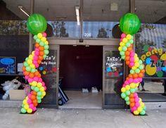Cómo hacer una Columna con Globos - Decoración con Globos   En toda fiesta se utiliza los globo s, es por eso que hoy te traigo muchas idea...