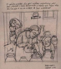 Depois disso, ela foi embora, fechou-se em casa com seus filhos e começou a encher as vasilhas que eles lhe traziam. 2 Reis 4:5
