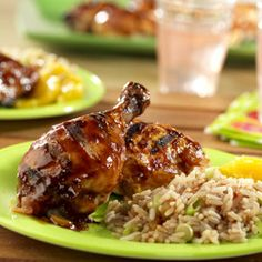 Simply Spicy Grilled Chicken    Smoky barbecue sauce combines with picante sauce to create an intriguing grilling sauce for chicken.