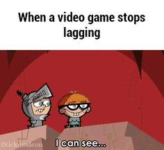 When a video game stops lagging