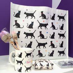 Kolekce #ILoveMyCat s motivem #kočky #cat #giftware #accessories