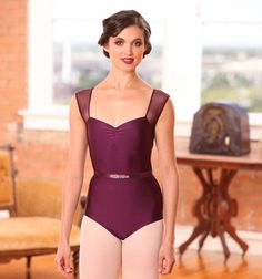 Wish I could afford pretty leotards to wear to class...
