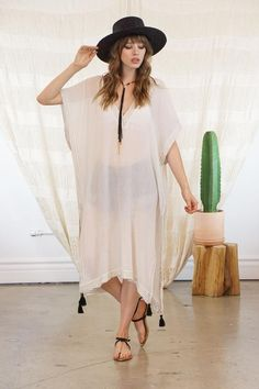 ccec46f0fce SALE Ela Kaftan White Beach Cover Up Kimono Jacket Bohemian | Etsy White  Beach Cover Up