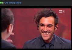 """Marco ospite a """"Che tempo che fa"""" - http://www.rai.tv/dl/RaiTV/programmi/media/ContentItem-e6499cbb-02df-4197-9e82-7bea2e9e4e4f.html#p="""